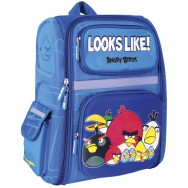 "Ранец школьный 14,5"" Cool for School AB03826 ""Angry Birds"" каркасный, 370х300х120"