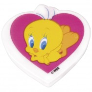 "Ластик  Cool For School  TW05410 ""Tweety"" мягкий, 2 дизайна"