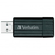 Флеш-память Verbatim 32 Gb USB Drive  Store'N'GO Pin Stripe Black 49064