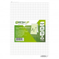 Альбом для флипчарта 20л Fresh Up FR-20KL клетка 64х90см